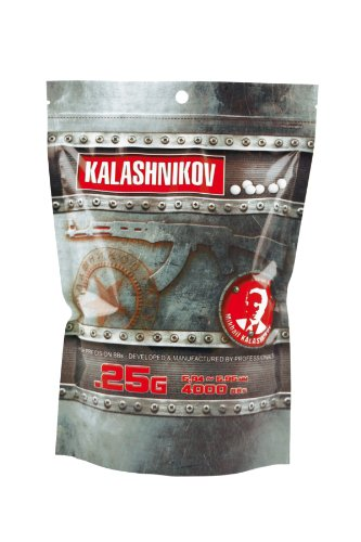 Kalashnikov Billes KALASHNIKOV 0,25 Gr – Balines de plástico para airsoft
