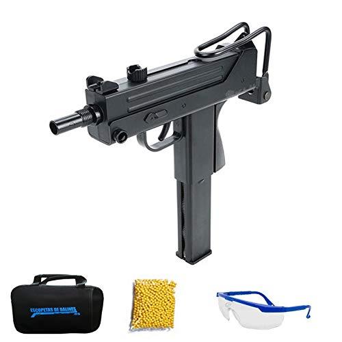 KWC M11 (6MM – Pistola de Airsoft Calibre 6mm (Arma Aire Suave de Bolas de plástico o PVC). Sistema: CO2. <3,5J