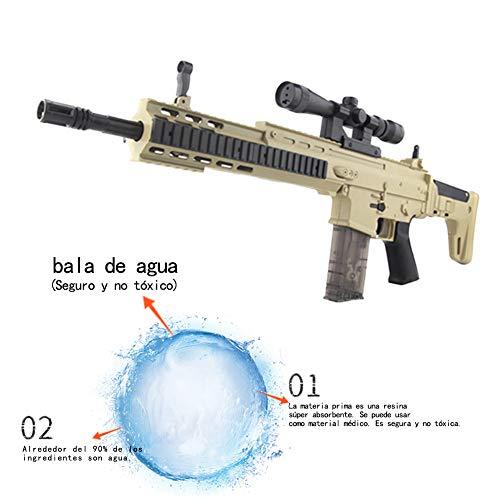 ShuaiMao 72 CM Arma de Bala de Agua-Arma Airsoft-Scar-L Rifle de Francotirador Modelo de Juguete -Juguetes de Réplica de Armas para Niños Adultos