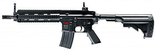 Eléctrica Airsoft – pistola rápida de fuego carabina HK 416C con las baterías, el barril de metal – espesor de 0,5 julios
