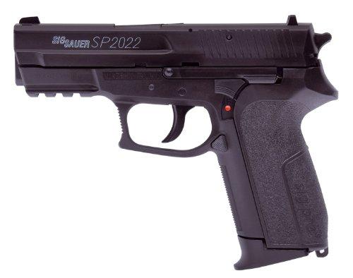 Sig Sauer Softair Pistole Sig Sauer SP2022 H.P.A. (<0,5 Joule) – Arma de Airsoft (0,5 Julios, 6 mm), Color Negro
