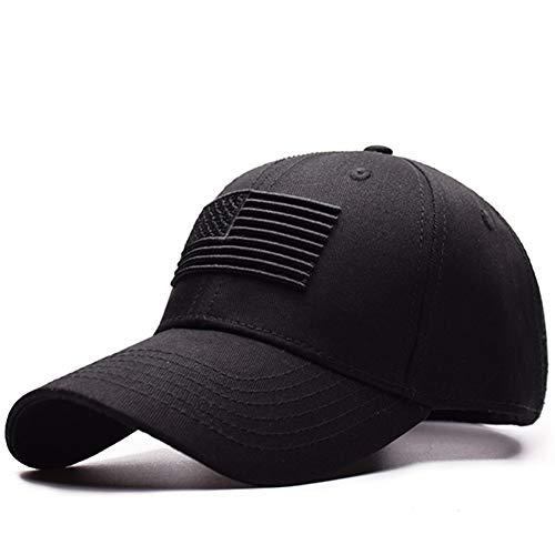 Yooci Gorras De Hombre Gorra De Béisbol Táctica Protección De Los Hombres Gorra Snapback Moda Masculina Casual Golf Sombrero De Béisbol Sombrero De Airsoft Black