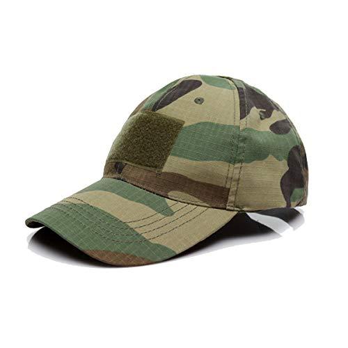 QMFIVE Sombrero Aire Libre del Sombrero de la protección Solar para el acampamento táctico de la Subida del Paintball de Airsoft