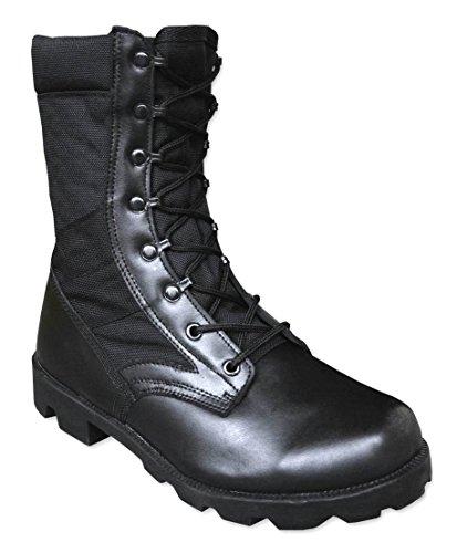 Mil-Tec – Botas para hombre, color negro, talla 42.5