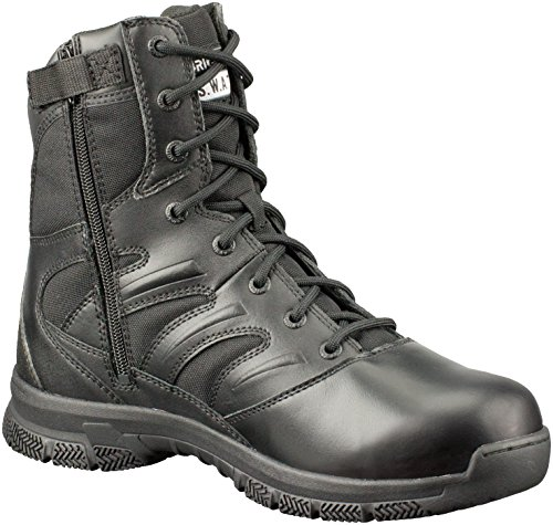 Original S.W.A.T.Force 8″ Side-Zip En –  Botas de trabajo hombre, color Negro, talla 48